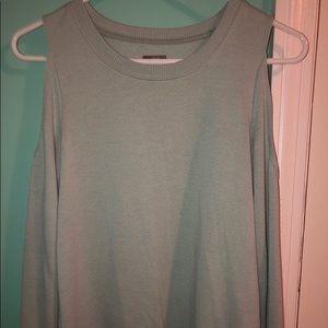 Aerie open shoulder sweatshirt